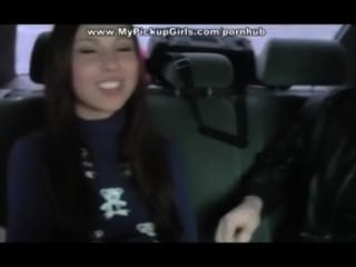 Bangs Girl In The Car And Cums In Her Mouth