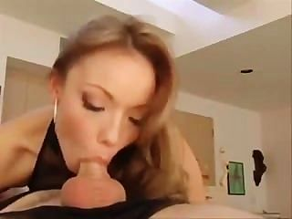 Maya Hills Nice Blowjob And Facial