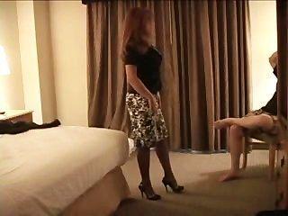 Slut Wife Takes Two Black Cocks