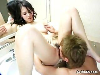 Japanese Maria Ozawa Fucked In Bathroom