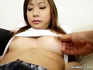 Lovely Japanese Teen Enjoys A Good Fuck