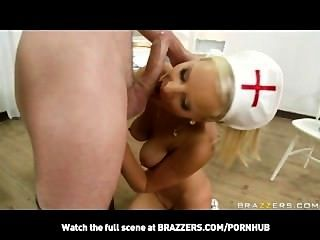 Blonde Teen Nurse With Natural-tits Needs Anal From Patient