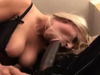 Blonde Anal With Big Black Cock