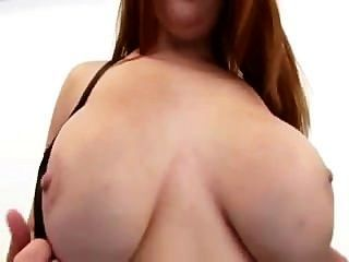 Redhead Rebecca Has Awesome Tits