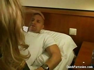Dutch Hotel Maid Gets Fucked