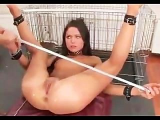 Cutie Tied-up Spanked Assfucked