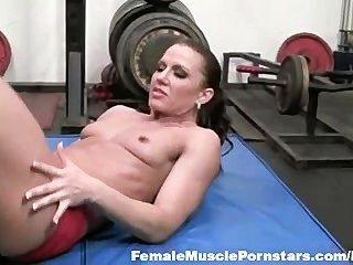Inari Vachs - Huge Dildo Play