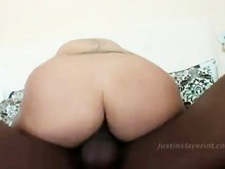 Thick Puerto Rican Chick Gets Penetrated By Black Dick