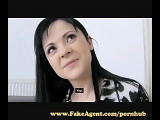 Fakeagent. Best Tits Ever And Loves Anal.