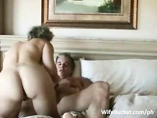 Older Couple Enjoys Home Sex