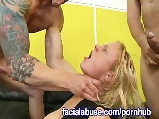 Clayra Beau Fucked Up On Facial Abuse