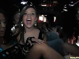 Nudity And Fucking In The Vip Limo