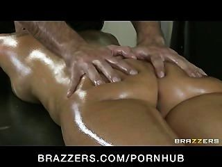 Horny Busty Asian Babe Asa Akira Is Massaged & Fucked By Big-dick