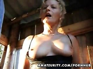Mature Amateur Wife Sucks And Fucks Outdoor With Facial Cumshot