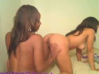 Bisexual Black Teen Girls Masterbate On Webcam