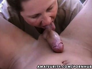Chubby Amateur Wife Homemade Blowjob And Fuck
