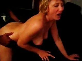 My Blonde Nympho Wife Loves Big Black Cock!