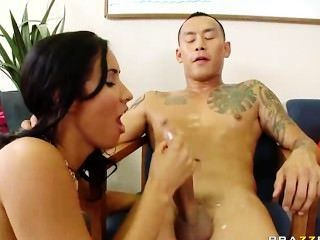 Amwf Latina Interracial With Asian Guy