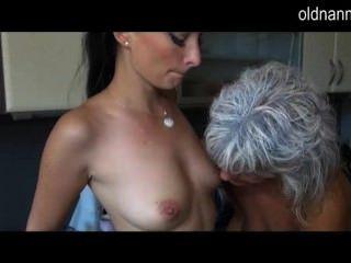 Watch Horny Mature Lesbian Sex With A Teen Girl
