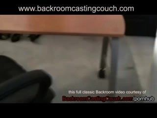 Talia Backroom Casting Couch - Full Vid