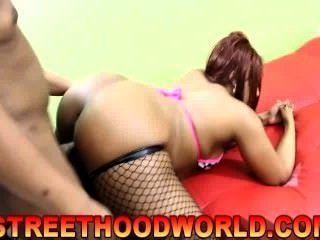 Thick Ebony Tina (street Hood World)