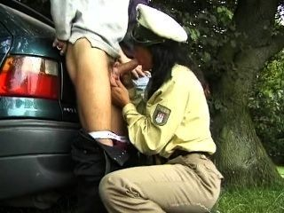 German Police Woman Gets Ass Fucked