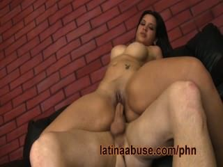Latina Veco Is Degraded And Pounded By A Big White Dick
