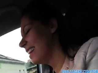 Hungarian Girl Sucks And Fucks For Money In The Car