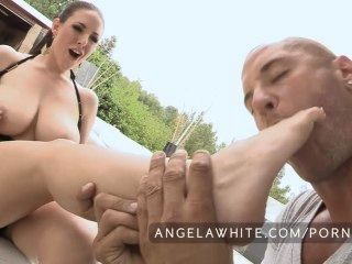 Big Tits Angela White Fucks A Huge Cock