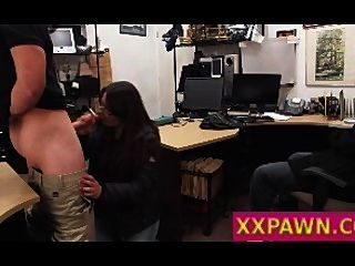 Sucking Dick In Pawn Shop To Avoid Jail