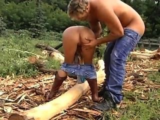 Country Chicks Like Fucking Huge Cocks Outdoors Video