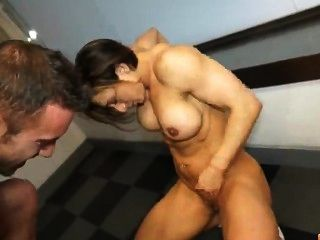 Tough Girl Fucked At The Gym