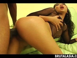 Stunning Asian Hottie Enjoys Being Drilled With A Bbc