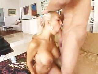 Busty Blonde Hard Anal
