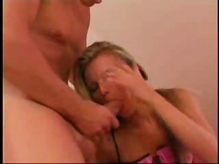 Sexy Lady Takes A Mean Cock