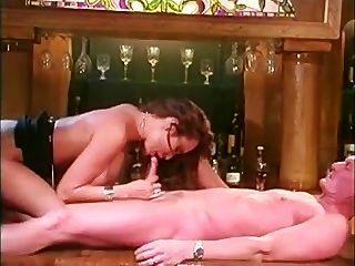 Kira Kener On The Bar