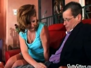 Teen Sitter Letting A Guy Stuff Her Hole
