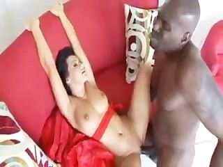 Sandra Romain Loves Sucking And Fucking Big Hard Black Dick