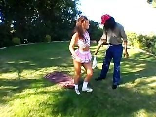Naomi Russell Takes It In Both Holes