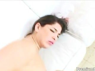 Busty Latina Chick Takes A Dick