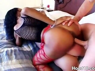 Next Door Ebony Teen Girl Getting Her Pink Pussy Pounded