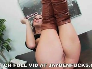 Jayden Jaymes Is Naughty In The Office