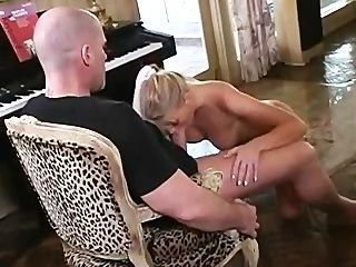Lea De Mae Strips And Fuck