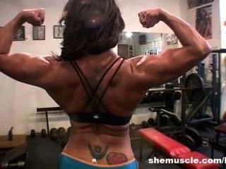 Latina Big Clit Workout