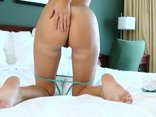 Perfect Babe Fucks Rabbit Toy