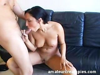 Tia Loves Creampied Inside Her Wet Pussy