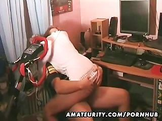 Hot Young Amateur Couple At Home