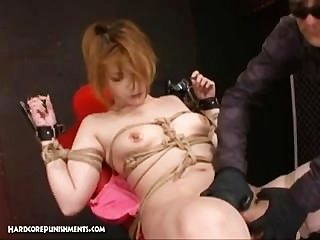 Extreme Uncensored Japanese Bondage Sex