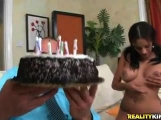 Big Tits Boss Gives Her Intern A Cake