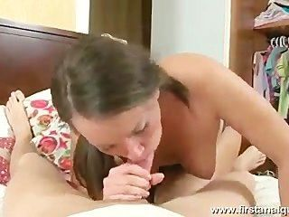 Russion Girl Mae Ward Firs Anal